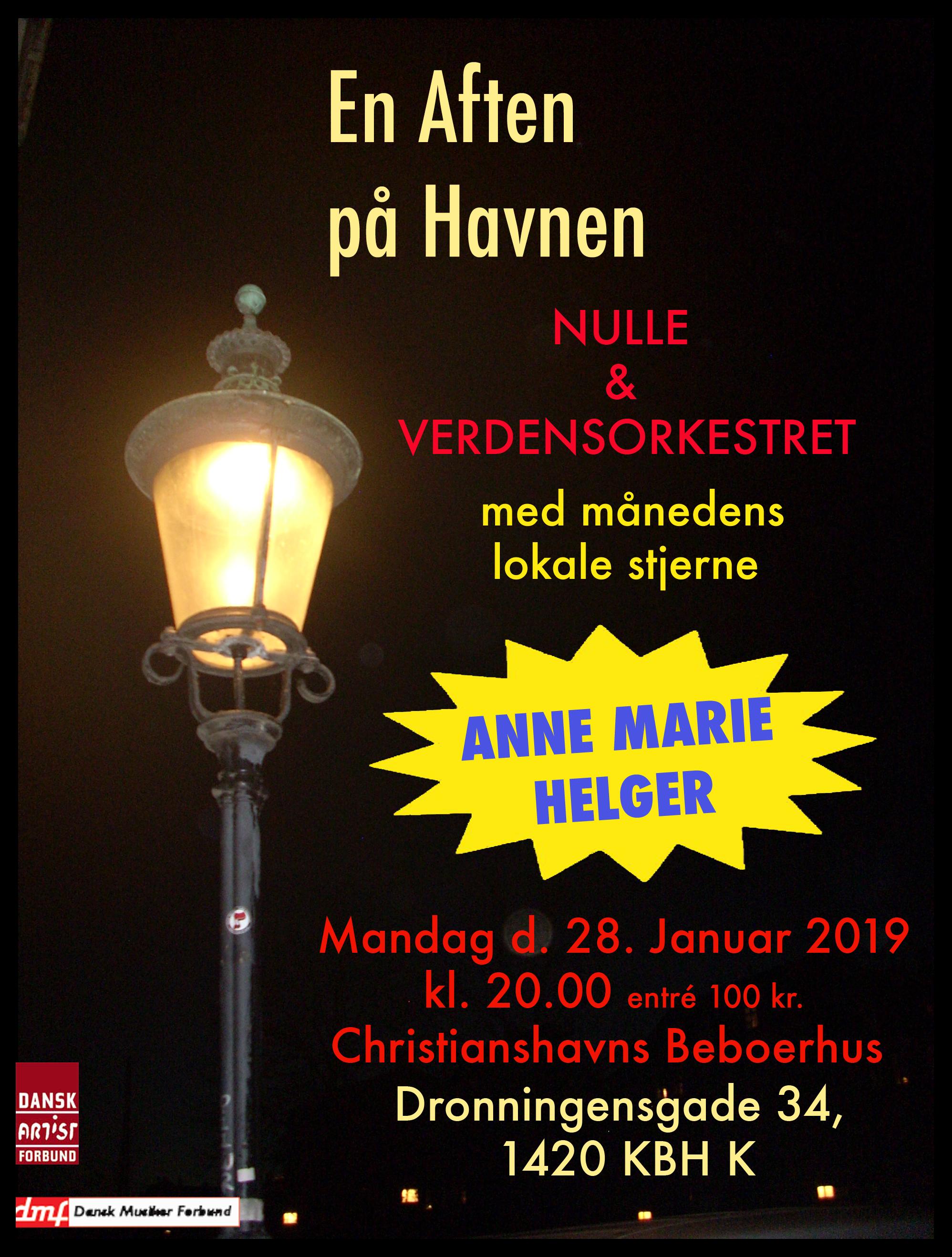Nulle & Verdensorkestret m. Anne Marie Helger