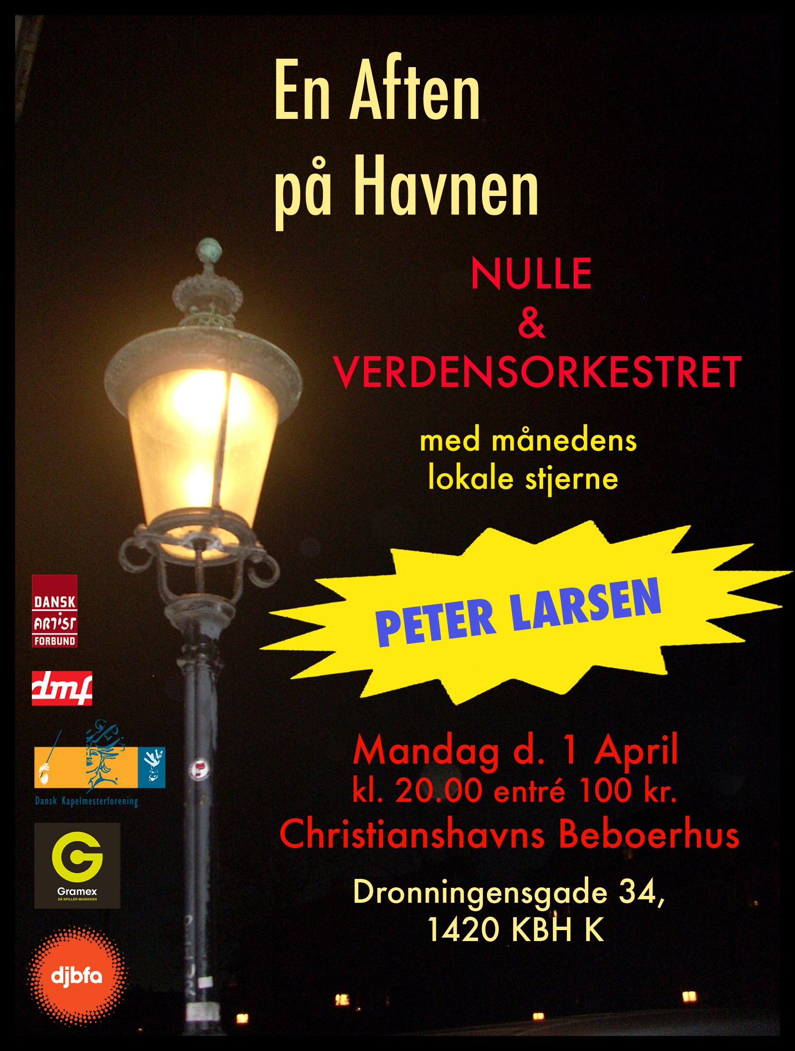 Nulle & Verdensorkestret + Peter Larsen