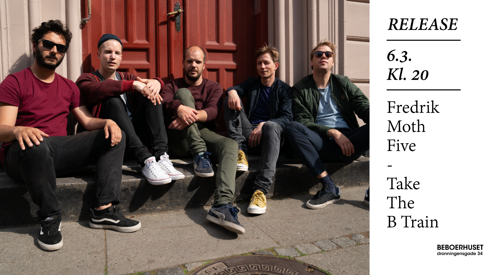 Fredrik Moth Five – Take The B Train