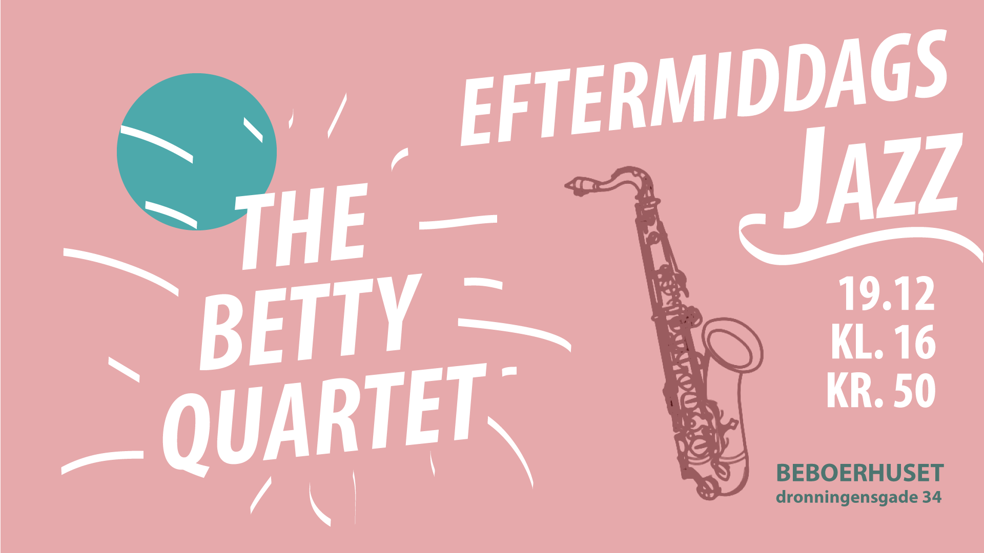 Eftermiddags Jazz – med The Betty Quartet