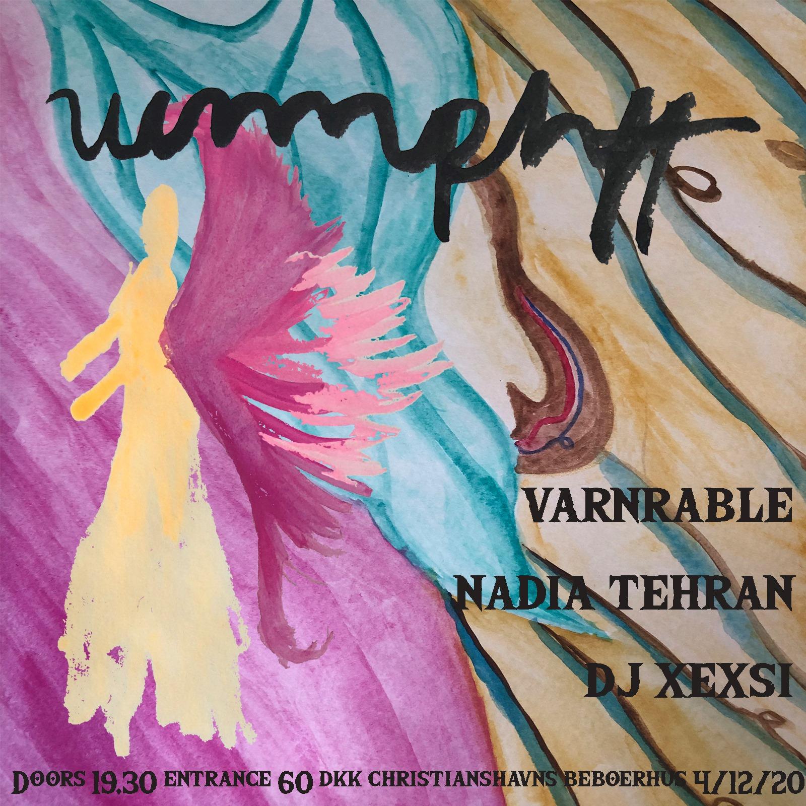 UUMPHFF – NADIA TEHRAN & VARNRABLE