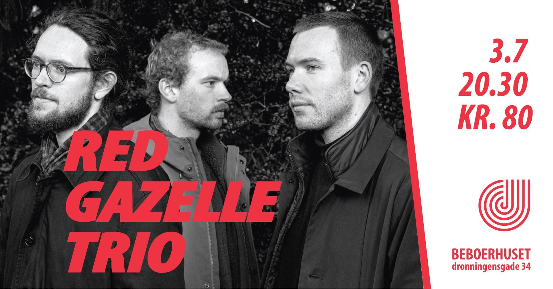 Red Gazelle Trio på Beboerhuset
