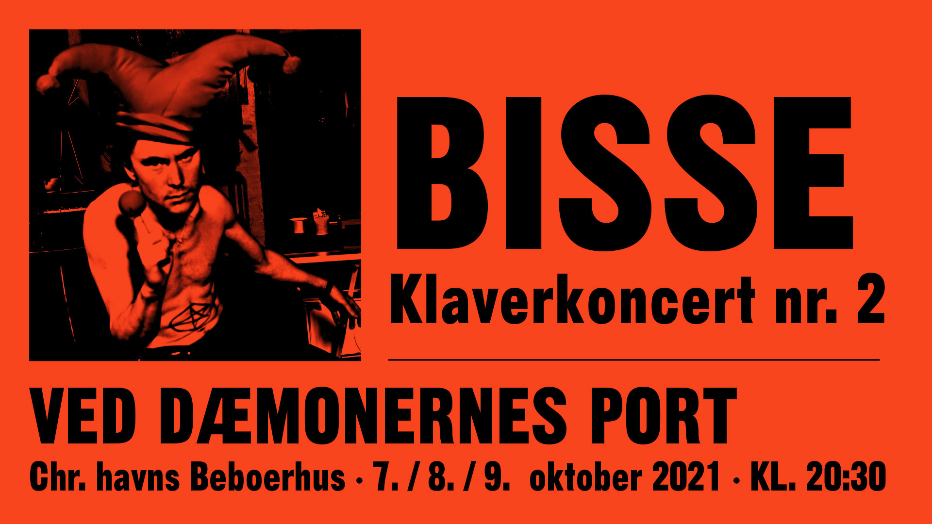 """Bisse – Klaverkoncert nr. 2 – """"Ved Dæmonernes Port"""""""